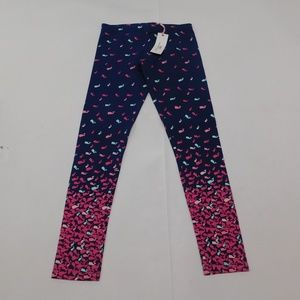 Vineyard Vines L Blue Leggings Full Cotton